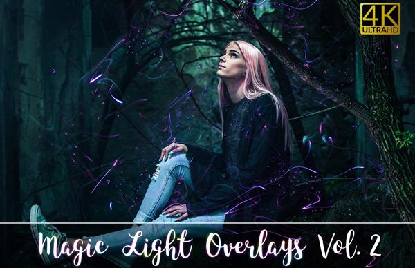 4K Magic Light Overlays