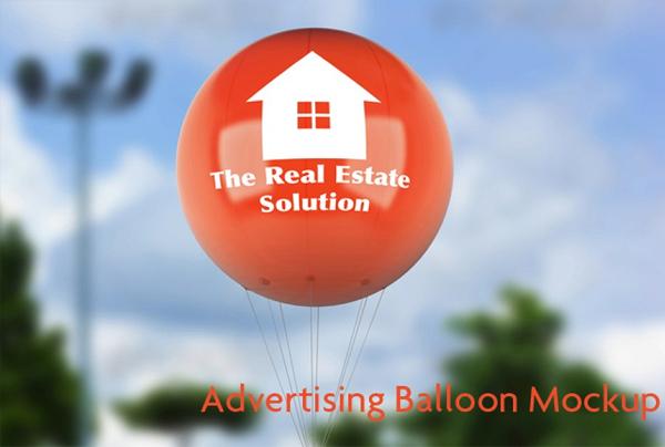 Advertising Balloon Mock-Up