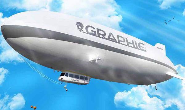 Air Balloon Free PSD Mockup