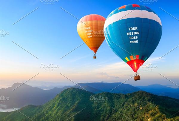 Air Balloon Mock-up