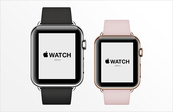 Apple Watch Free Psd Mockup Design