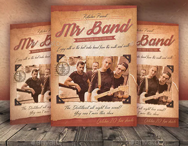 Band Flyer and Poster Template