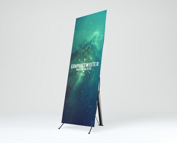 Banner Stand Mockup