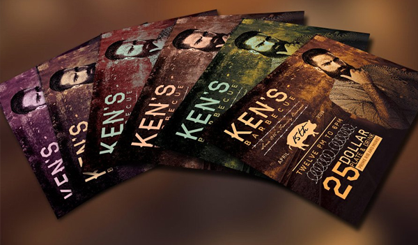 Barbecue Flyer Contest Template
