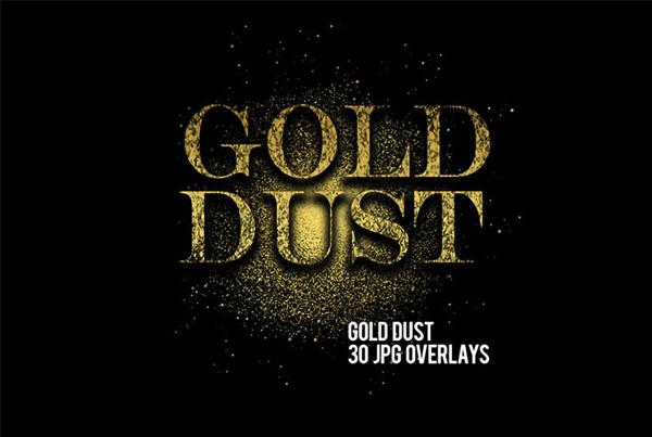 Best Gold Dust Photoshop Overlays