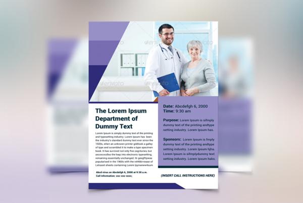 Best Health Awareness Flyer Template
