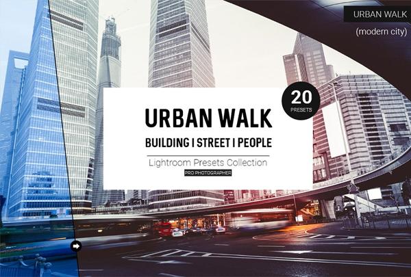 Best Urban Walk Lightroom Presets
