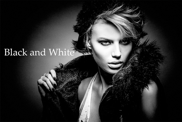 Black and White PSD Actions