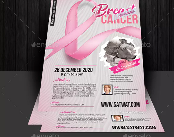 Cancer Awareness Flyer Templates Free Premium 28 Designs