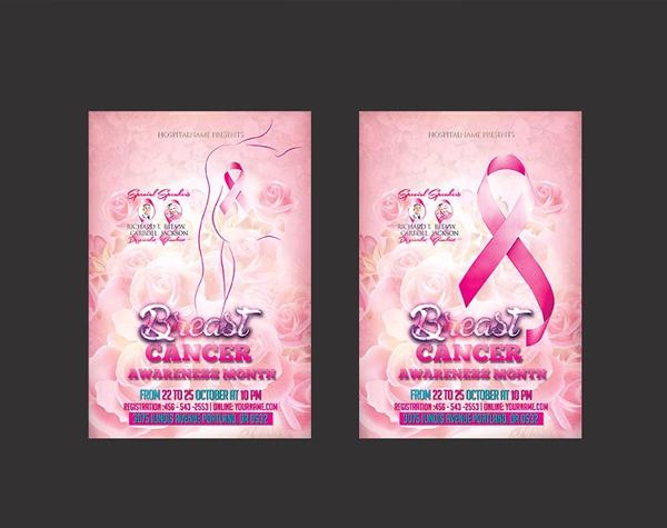 Breast Cancer Flyer Design Best Template