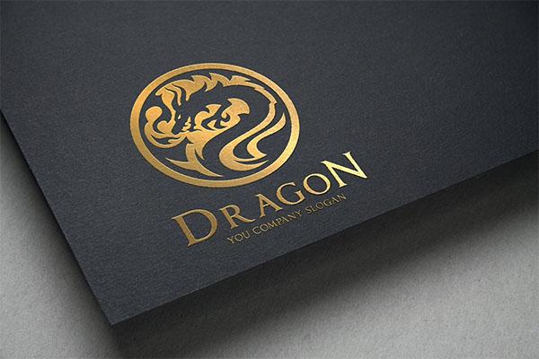 CMYK Dragon Logo