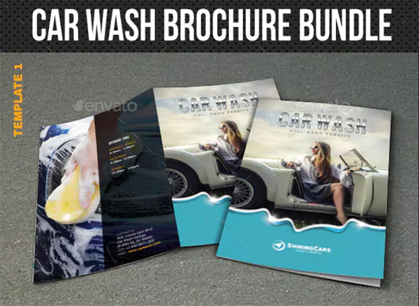 Car Wash Brochure Bundle