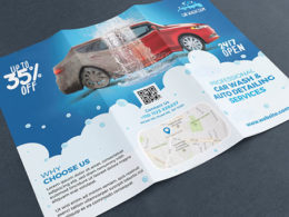 Car Wash Brochure Templates