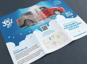 Car Wash Brochure Templates
