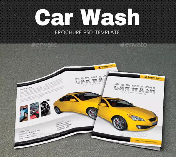 Car Wash Brochure