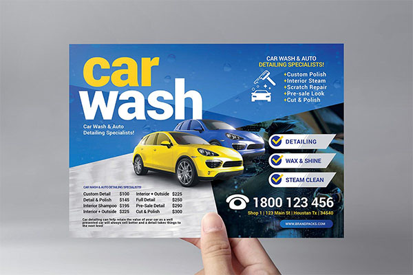 Car Wash Templates Pack Template