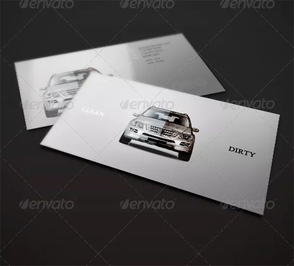 Clean & Dirty Business Card