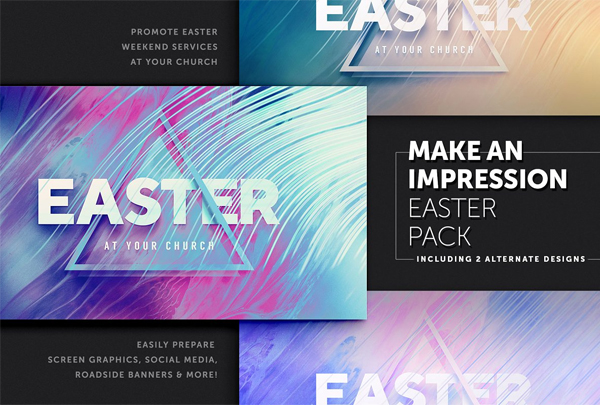 Colorful Easter Banners Pack