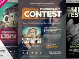 Contest Flyer Templates