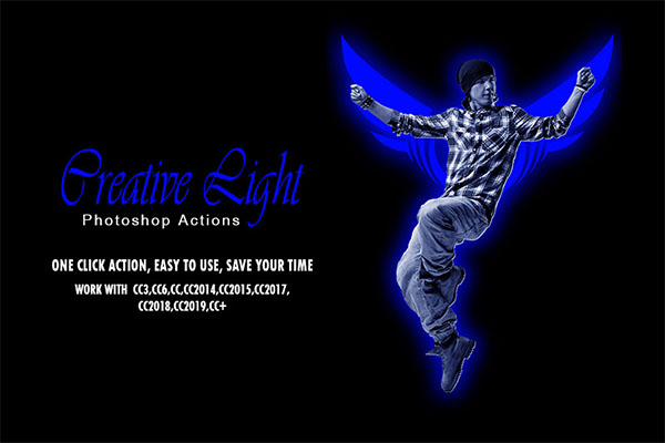 Creative Light Photoshop Actions