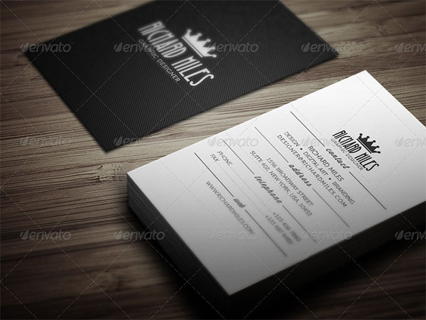 Creative PSD Vintage Business Card