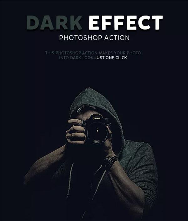 Dark Effect Photoshop Action