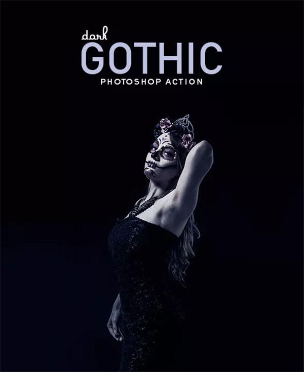 Dark Gothic Photoshop Action