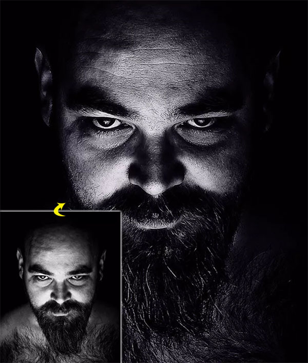 Dark HDR Photoshop Actions