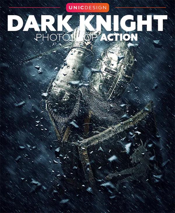 Dark Knight Photoshop Action