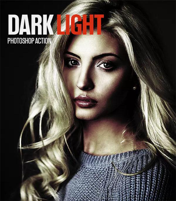 Dark Light PSD Actions