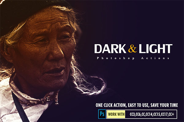 Dark & Light Photoshop Actions