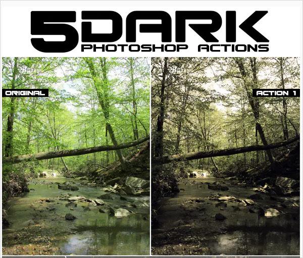 Dark PSD Actions