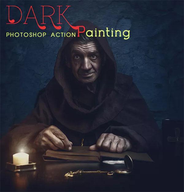 Dark Painting Photoshop Action