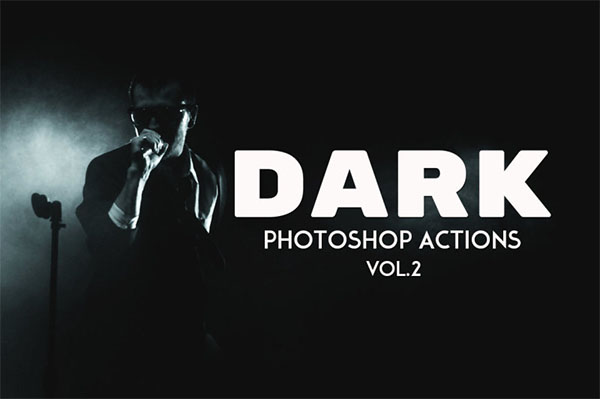 Dark Photography PSD Actions