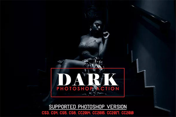 Dark Photoshop Action