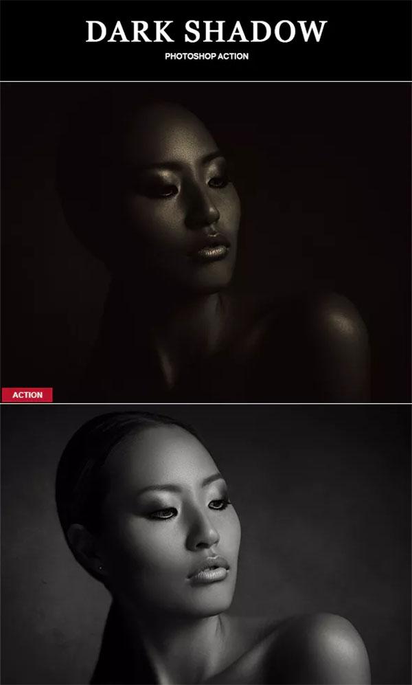 Dark Shadow Photoshop Action