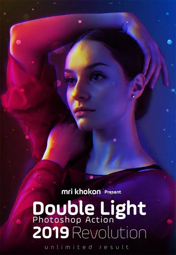 Double Light Photoshop Actions