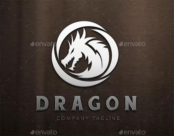 Dragon Branding Logo Template