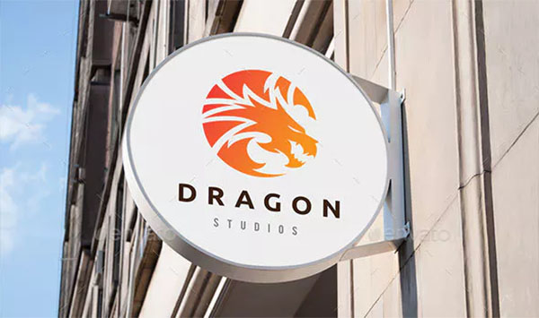 Dragon Branding Logo