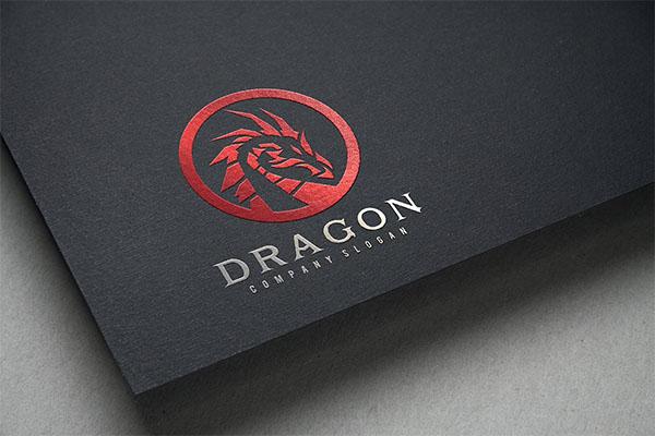 Dragon Company Design Logo