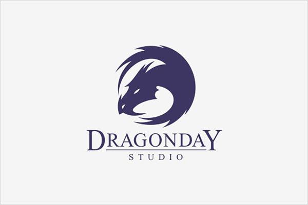 Dragon Day Logo Design
