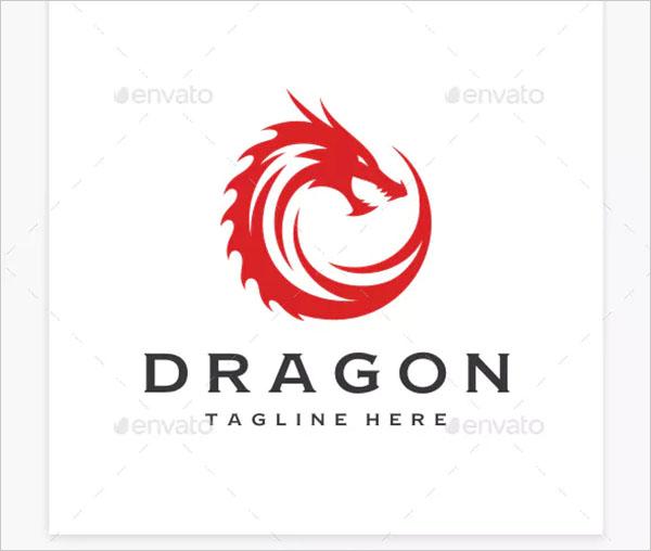 Dragon Design Logo
