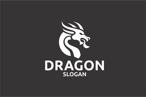 Dragon Design PSD Logo Template