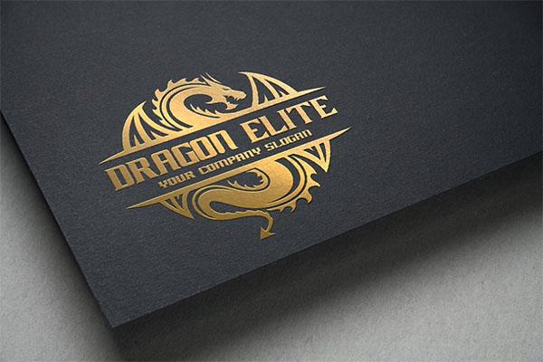 Dragon Elite Logo Design