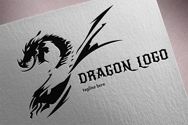 Dragon Logo Ai Ps Design