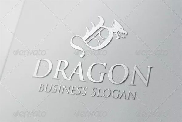 Dragon Logo Letter