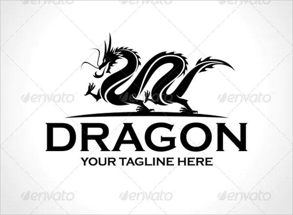 Dragon Logo Vector Template