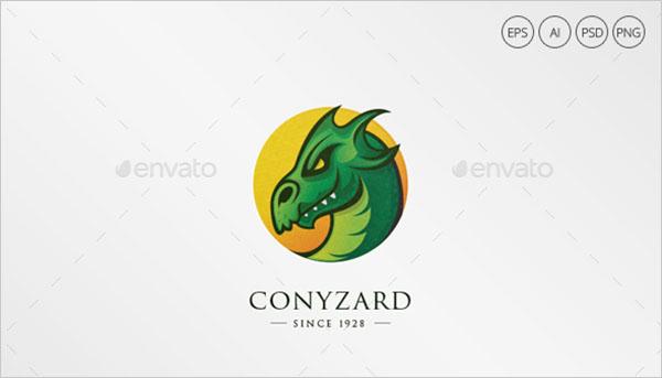 Dragon Photoshop Logo