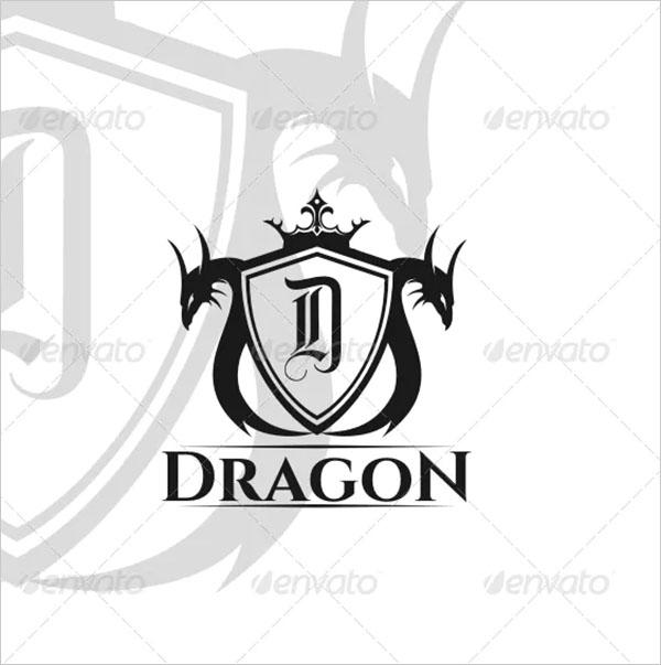 Dragon Tatto Logo Template