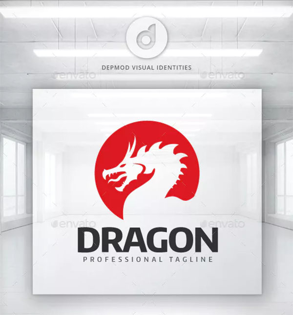 Dragon Visual Logo Design